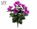 "21"" UV Protected Bougainvillea Flower Bush - Set of 12"