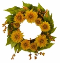 "22"" Golden Sunflower Wreath"