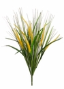 "23"" Artificial Rattail Grass Bush x 10  Two Tone Color - Set of 12"