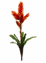 "23"" Artificial Bromeliad Flower Sray Stem - Set of 12"