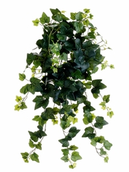 "25.5"" Artificial Ivy Gala Hanging Bush  - Set of 6"