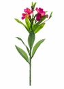 "25"" Artificial Alstroemeria Flower Spray Stem - Set of 12 (Shown in Boysenberry)"