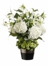 "25"" Artificial Flower Arrangement With Hydrangea & Gloriosa"