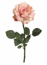 "26"" Single Artificial Sophia Rose Spray w/Water-Proof Stem - Set of 12"
