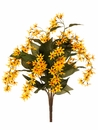 "26"" Starflower Artificial Hanging Bush Plant - Set of 12 (Shown in Flame)"