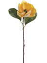 "28.5"" Silk Magnolia Flower Spray Stem - Set of 12"