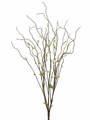 "29"" Artificial Brown Curly Willow Twig Bush Branch Set of 12"