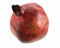 "3.3"" Artificial  Weighted Pomegranate - Set of 6"
