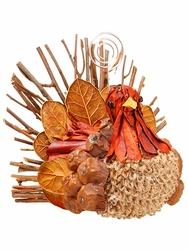 """3.5"""" Artificial Novelty Turkey Name Card Holder Table Decoration - Set of 12"""
