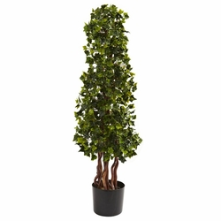 3.5� English Ivy Spiral UV Resistant (In-Door/Out-Door)