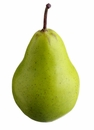 """3.75"""" Artificial Weighted Pear - Set of 12"""