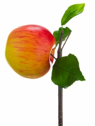 "3"" Artificial Apple on Branch - Set of 12"
