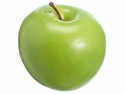 """3"""" Artificial Weighted Green Apple - Set of 12"""
