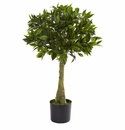 3' Bay Leaf Topiary UV Resistant (Indoor/Outdoor)