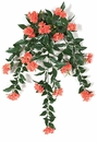 "30"" Outdoor Artificial Impatiens Flowers"
