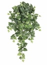 "30"" Silk Algerian Ivy Hanging Bush with 162 Leaves - Set of 12"