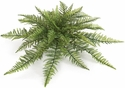 "30"" UV Infused Ruffle Fern Bush - Poly Blend"