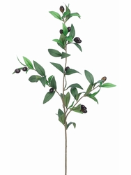 """31.5"""" Artificial Olive Branch - Set of 12"""