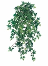"31"" Medium Sage Ivy Hanging Bush - Set of 4"