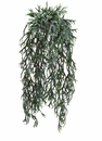 "32"" Artificial Staghorn Fern Hanging Bush in Frosted Green - Set of 12"
