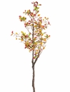 "33"" Artificial Rose Hip Spray Branch - Set of 12"
