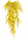 "33"" Artificial Curly Fern Silk Hanging Bush - Set of 12"