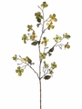 "34"" Artificial Mini Dogwood Spray - Set of 12"