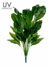 "36"" UV Plastic Spathiphyllum Artificial Plant - Set of 4"