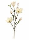"39"" Artificial Magnolia Flower Tree Branch - Set of 6 (shown in Cream)"