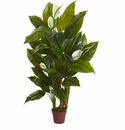 4.5� Spathyfillum Plant (Real Touch)