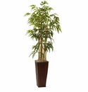4� Bamboo w/Decorative Planter