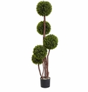 4� Boxwood Topiary UV Resistant (Indoor/Outdoor)