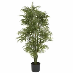 4' Plastic Parlour Palm Tree