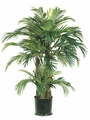 Set of 2 - 4' Silk Phoenix Palm Trees x 3 trunks