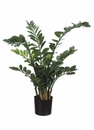 "42"" Artificial  Zamioculcas Plant in Plastic Pot - Set of 2"