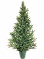 "48"" Artificial Mini Cedar Pine Tree"