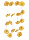 5.5' Artificial Gerbera Daisy Flower Garland with 18 Flowers