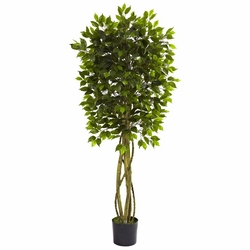5.5' Ficus Tree UV Resistant (Indoor/Outdoor)
