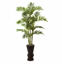 5' Artificial Areca Palm Tree in Decorative Container