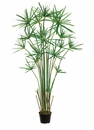 5' Artificial Cypress Grass Tree Floor Plant in Pot