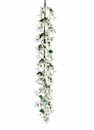 5' ArtificialSilk Dogwood Garland - Set of 2