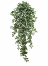 "51"" Artificial Medium Syngonium Hanging Bush with 547 Leaves - Set of 6"