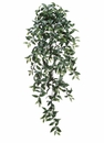 "51"" Artificial Ruscus Hanging Bush with 547 Leaves - Set of 6"