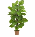 "52"" Large Leaf Philodendron Silk Plant(Real Touch)"
