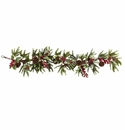 54� Holly Berry Garland