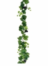 6' All Season Artificial Grape Leaf Garland w/Grapes - Set of 6