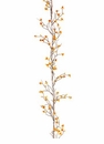 6' Artificial Bittersweet Flower Garland - Set of 6