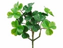 "6"" Artificial Clover Bush Plant - Set of 24 Bushes"