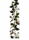 6' Artificial Magnolia Garland Flower Strand - Set of 4
