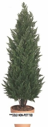 6' Artificial Outdoor Cypress Tree